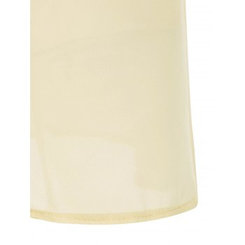 Trendy Solid Color Sleeveless Backless Halter Dress For Women - LIGHT YELLOW LIGHT YELLOW