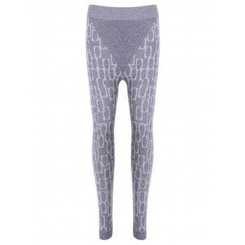 Stylish Women's High Waisted Printed Stretchy Slimming Gym Leggings