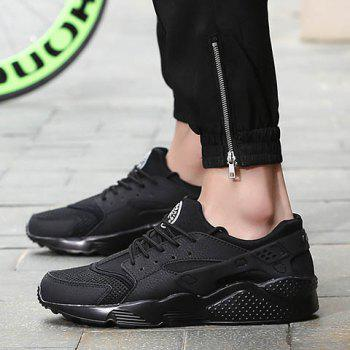 Leisure Splicing and Black Design Men's Athletic Shoes - 39 39