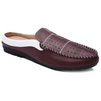 Stylish Breathable and Stitching Design Men's Casual Shoes