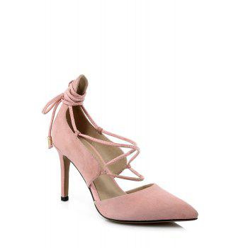 Elegant Lace-Up and Stiletto Heel Design Pumps For Women