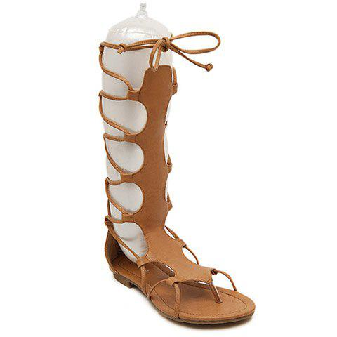 Casual Zip and Flip Flop Design Women's Sandals flip flop