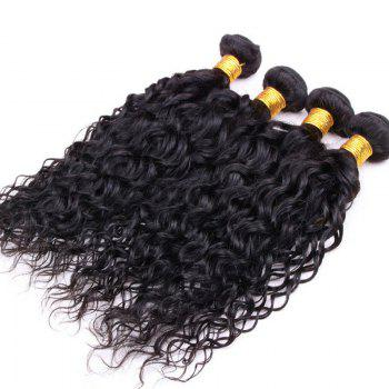 Fluffy Curly Black 6A Virgin Hair 1 Pcs/Lot Brazilian Human Hair Weft For Women - 14INCH 14INCH