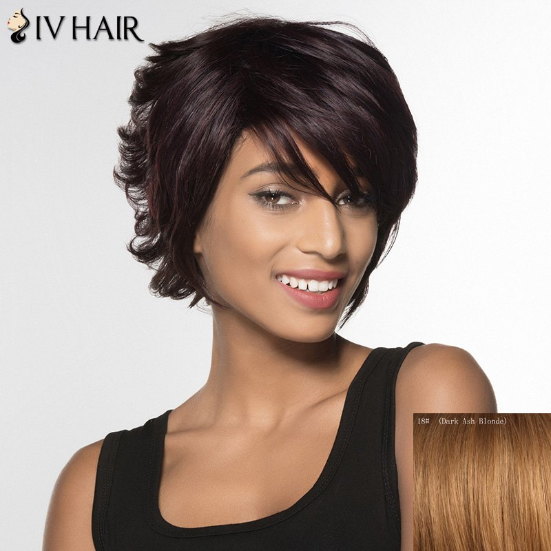 Siv Hair Short Curly Human Hair Wig For Women