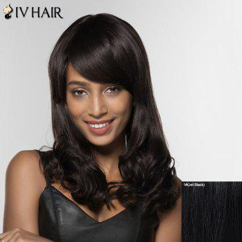 Siv Hair Long Curly Human Hair Wig For Women