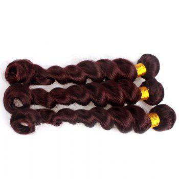 6A Virgin Hair Charming Loose Wave 1 Piece/Lot Brazilian Human Hair Weft For Women - 10INCH 10INCH