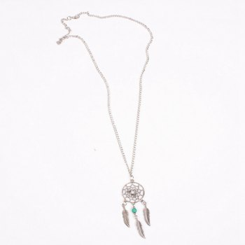 Charming Feather Hollow Out Sweater Chain For Women