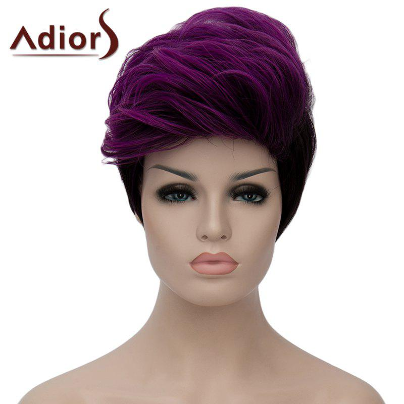Fluffy Adiors Heat Resistant Synthetic Short Wig For Women