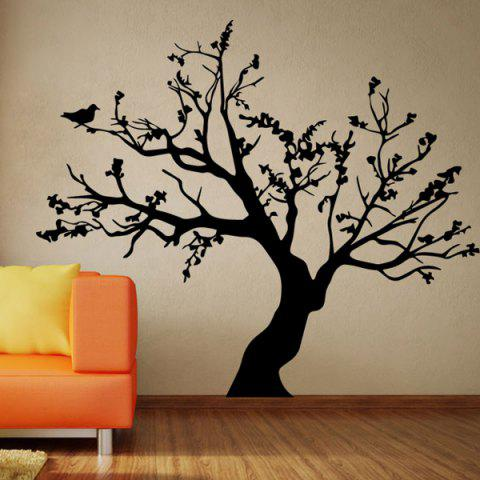 2019 stylish big tree pattern background wall sticker for bedroom