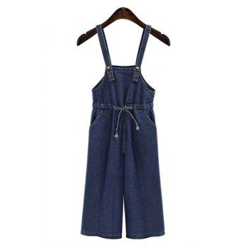 Denim Plus Size Overalls