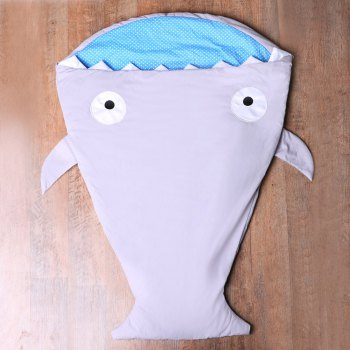 Creative Shark Blanket For Kids - GRAY GRAY