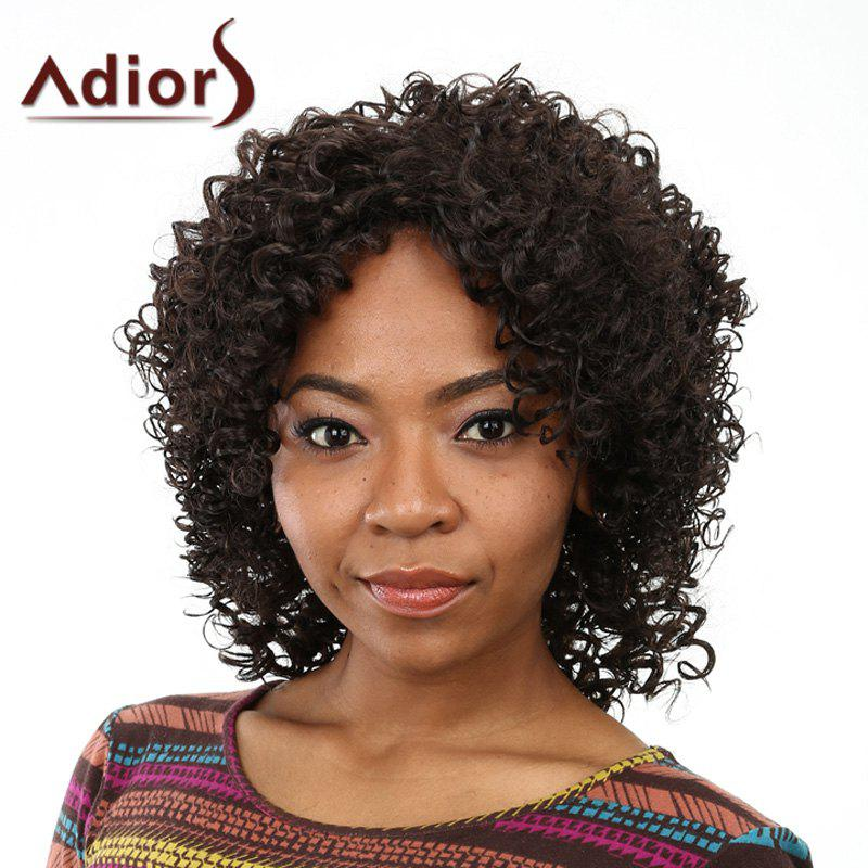 Fashion Shaggy Afro Curly Long Capless Black Women's Heat Resistant Fiber Wig silwerhof гуашь 9цв пластилиновая коллекция баночка 15мл