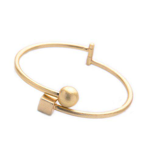 Chic Ball Square Cuff Bracelet For Women