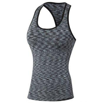 Sports Racerback Cami Print Scoop Neck Women's Tank Top