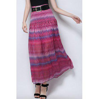 Maxi Printed Beach Skirt