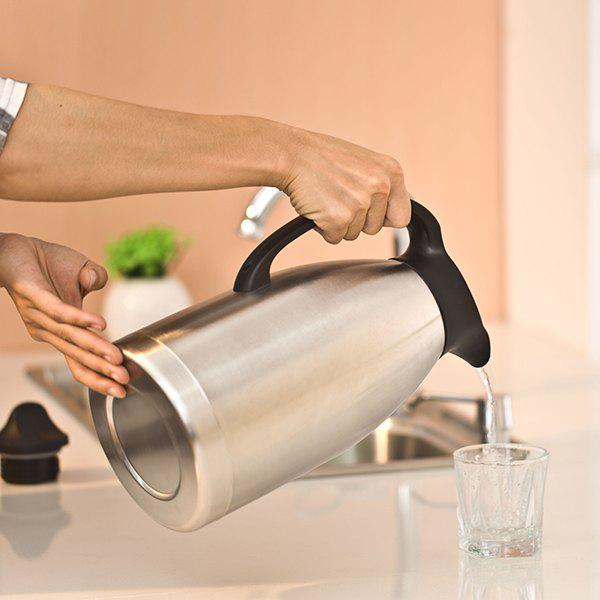 High Quality Double-Layer Stainless Steel Liner Vacuum Thermos Flask - BLACK