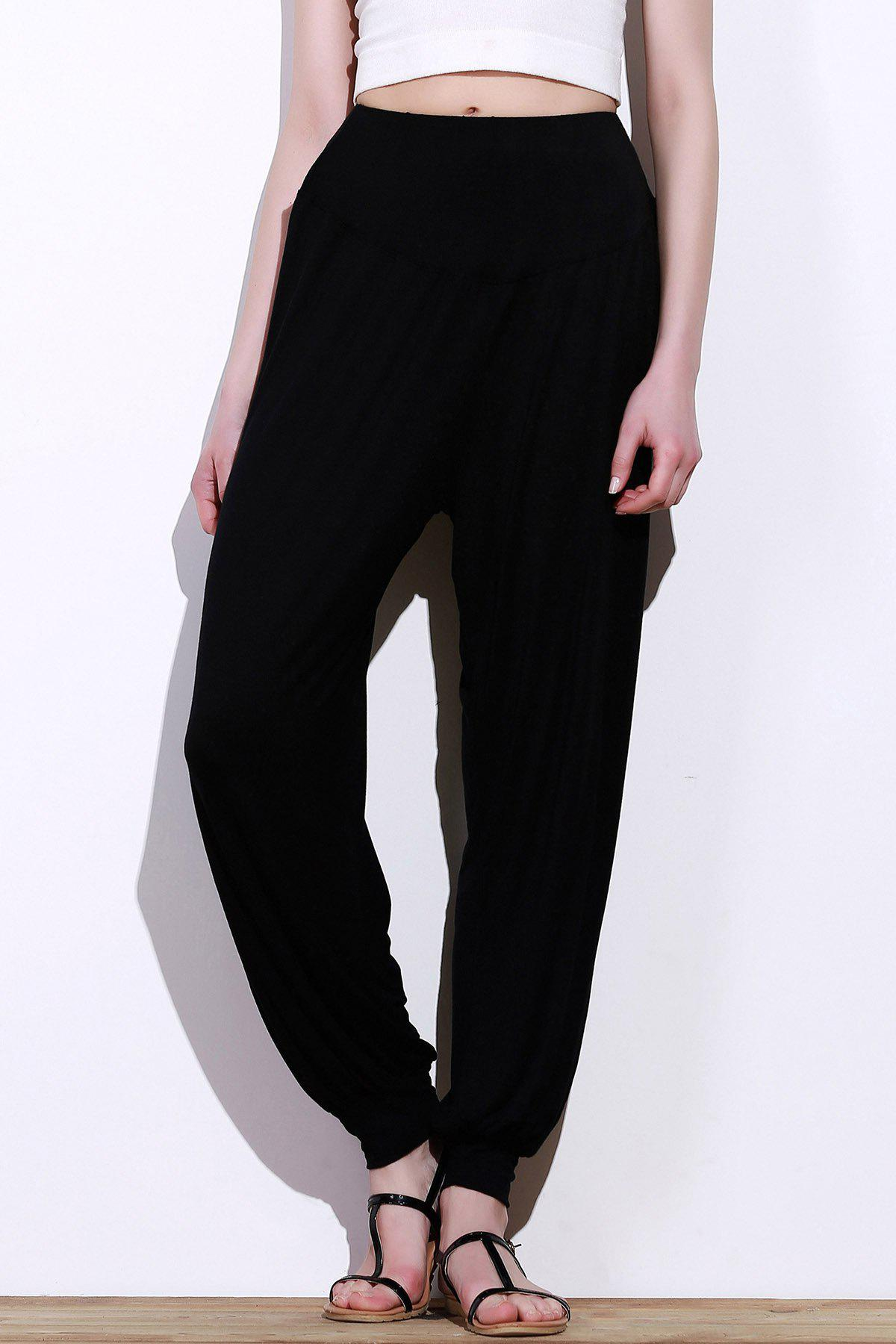 Luxury Poly Crepe Loose Fit Pants  Women  Eastessencecom