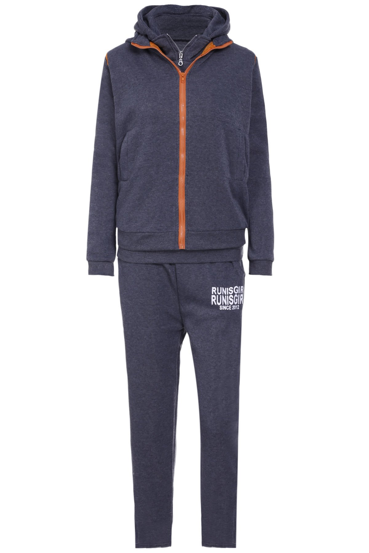 Active Graphic Hoodie and Flocking Waistcoat and Pants фото