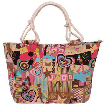 Casual Graffiti and Canvas Design Women's Tote Bag