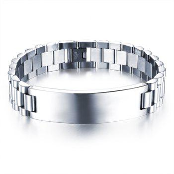Chic Style Titanium Steel Chain Bracelet Jewelry For Men