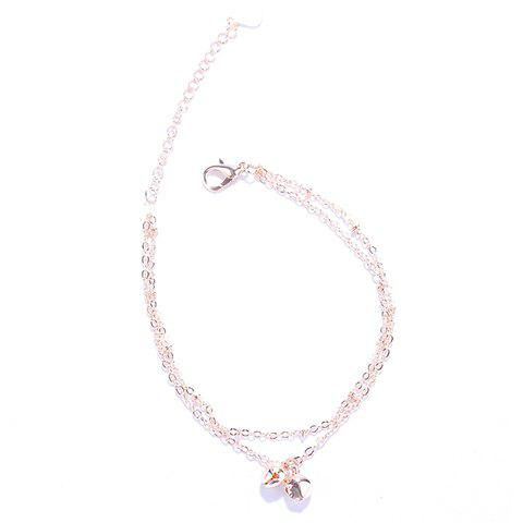 Charming Multilayer Small Bells Anklet For Women