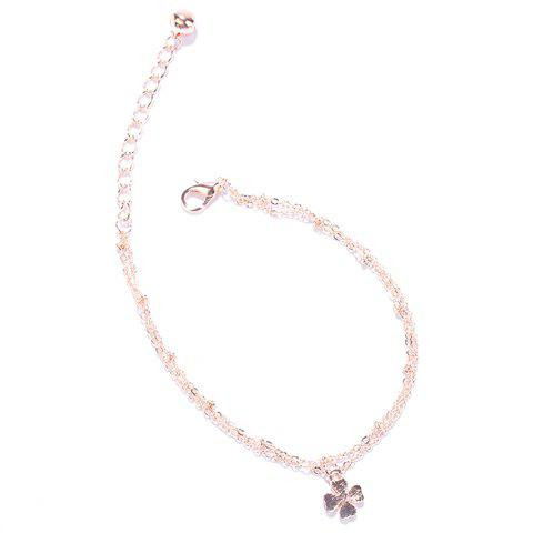 Charming Multilayer Flower Pendant Anklet For Women
