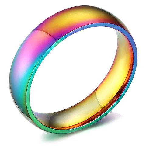 Colored Titanium Steel Ring - COLORMIX ONE-SIZE