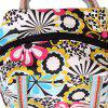 Casual Flower Print and Canvas Design Women's Tote Bag - COLORMIX