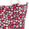 Sweet Tiny Floral Print and Canvas Design Women's Tote Bag -  ROSE