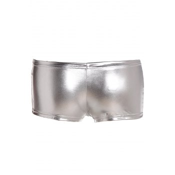 Stylish Women's Solid Color Boxers - WHITE ONE SIZE(FIT SIZE XS TO M)