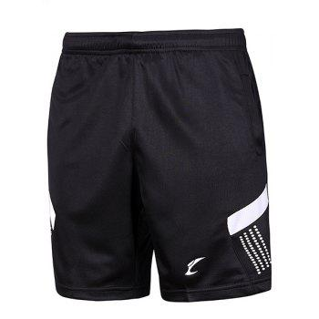 Men's Sports Style Color Block Quick Dry Shorts