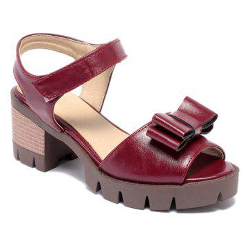 Ladylike  and Bowknot Design Women's Sandals