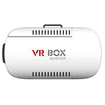 Fashion 3D Virtual Reality Video Glasses VR Box For 4.7 - 6.1 Inch Smartphone -  WHITE