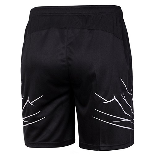 Men's Sports Style Printing Quick Dry Shorts - WHITE/BLACK L