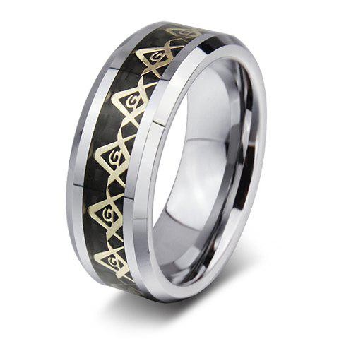 Chic Alloy Triangle Ring For Men
