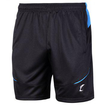 Buy Men's Sports Style Breathable Quick Dry Gym Shorts BLUE/BLACK