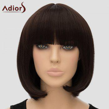 Adiors Straight Bobo Women's Full Bang High Temperature Fiber Wig