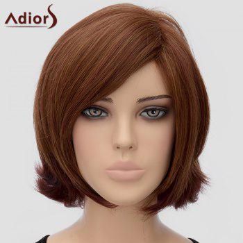 Trendy Adiors Medium Side Bang Heat Resistant Synthetic Wig For Women