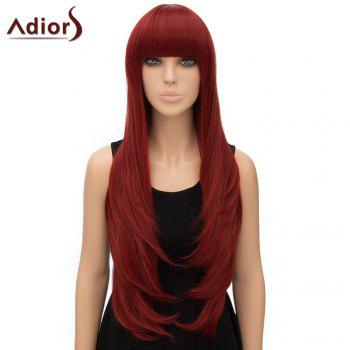 Nobby Women's Adiors Straight Long High Temperature Fiber Cosplay Wig