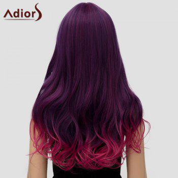 Nobby Adiors Curly Ombre Long High Temperature Fiber Women's Cosplay Wig - OMBRE 2