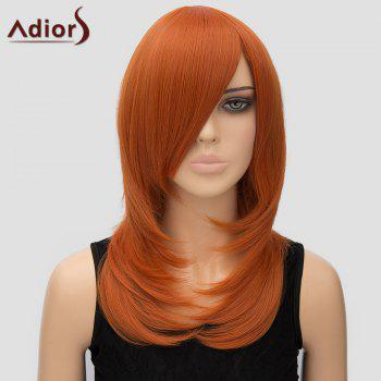 Stylish Adiors Women's Long Layered Side Bang High Temperature Fiber Cosplay Wig