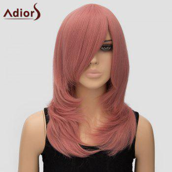 Trendy Adiors Women's Long Layered Side Bang High Temperature Fiber Cosplay Wig