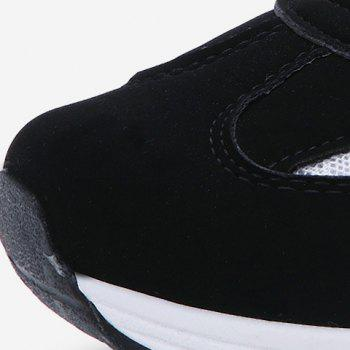 Stylish Mesh and Color Block Design Men's Athletic Shoes - 41 41