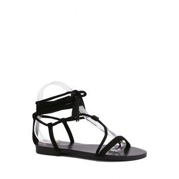Casual Flat Heel and Lace-Up Design Sandals For Women