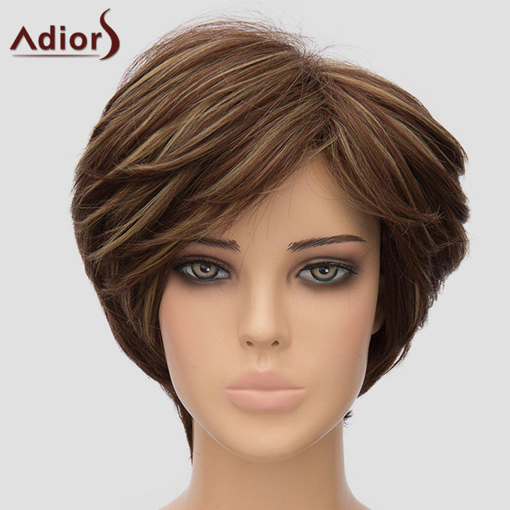 Fluffy Women's Adiors Short High Temperature Fiber Wig - COLORMIX