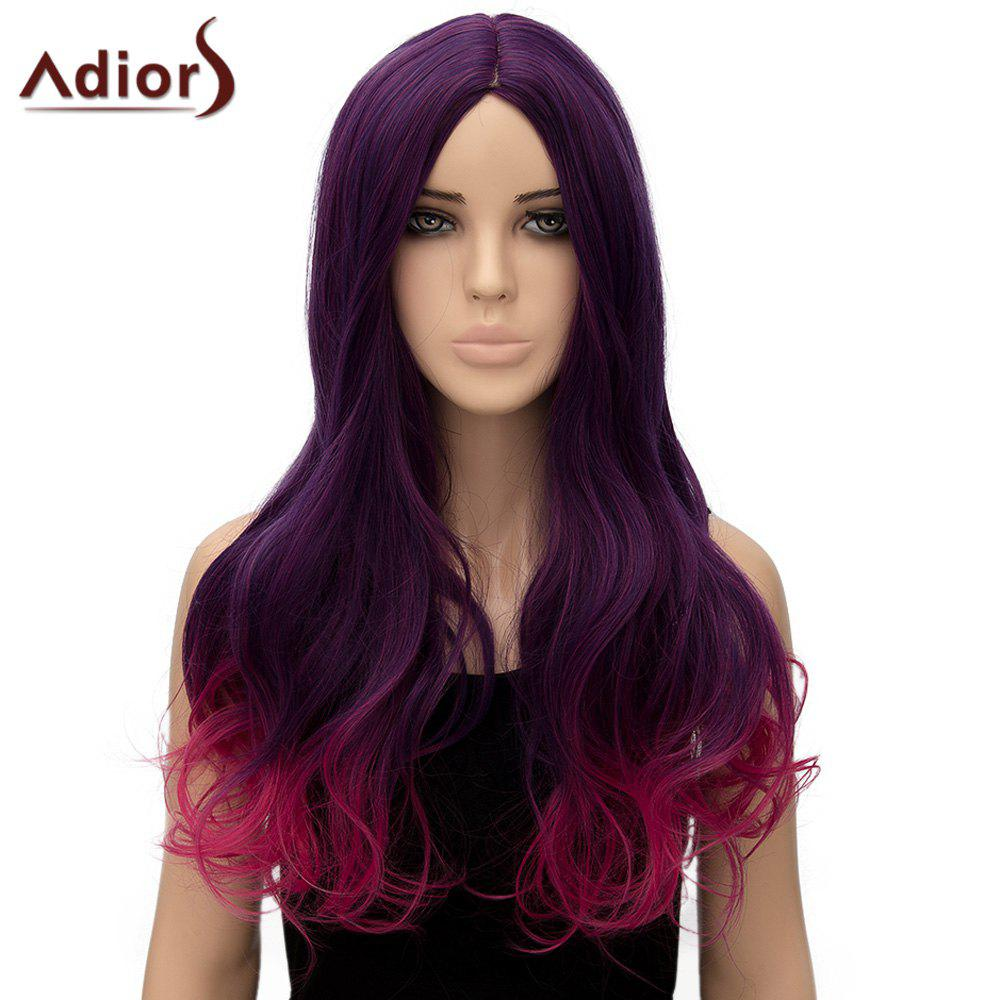 Nobby Adiors Curly Ombre Long High Temperature Fiber Women's Cosplay Wig - OMBRE