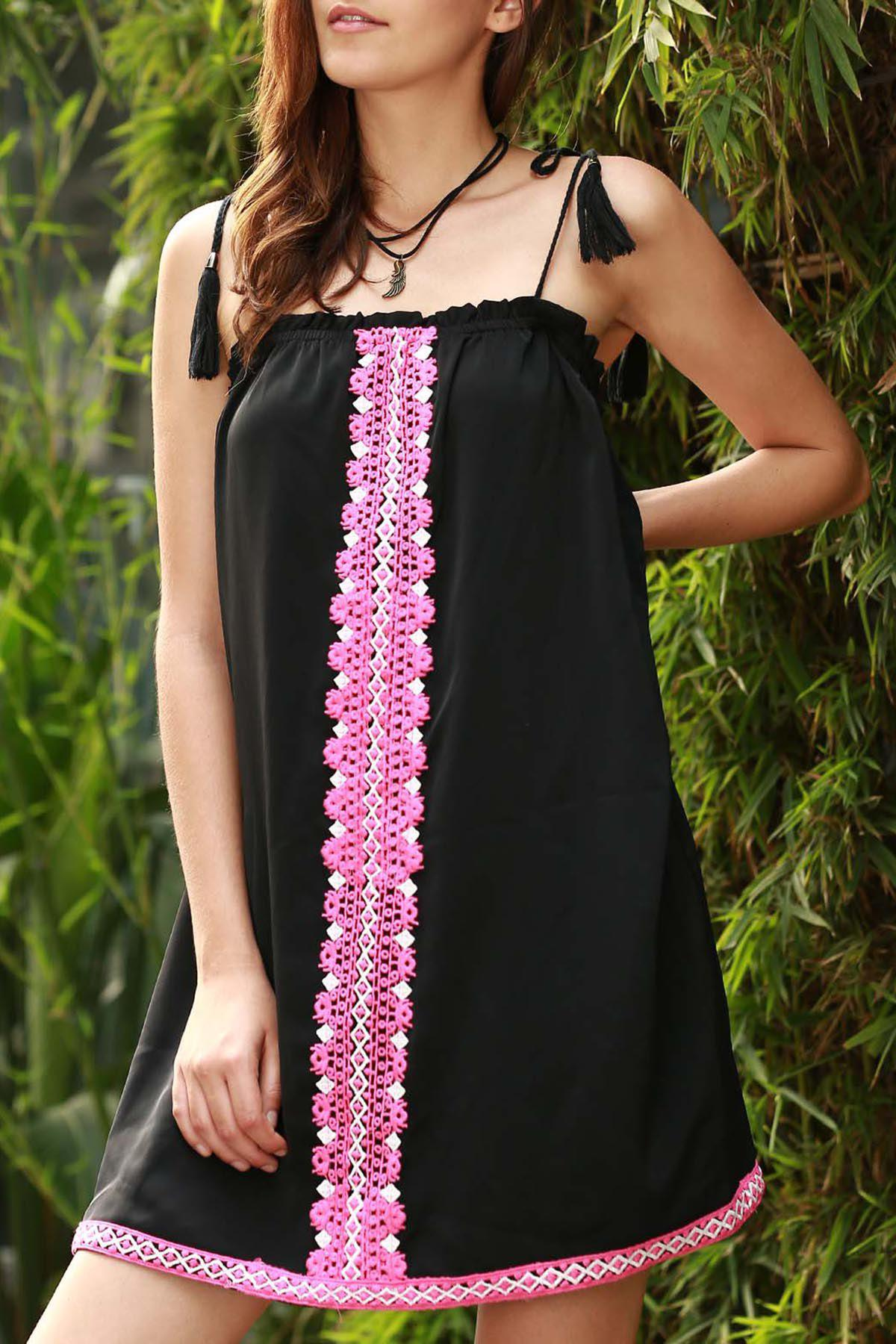 Ethnic Women's Embroidered Cami Dress
