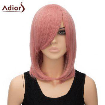 Women's Adiors Straight Inclined Bang High Temperature Fiber Stylish Cosplay Wig