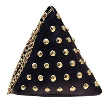 Casual Rivets and Triangle Shape Design Women's Tote Bag