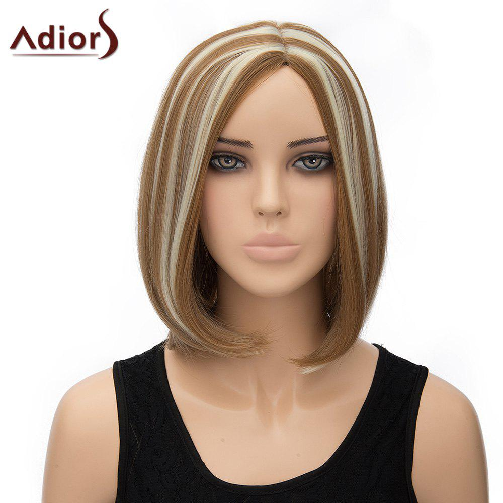 Stylish Women's Adiors Bobo Style Heat Resistant Synthetic Cosplay Wig - COLORMIX